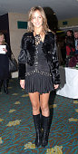 Lady Victoria Hervey during London Fashion Week Fall/Winter 2007 Julien Macdonald Runway and Front Row at Hilton Park Lane in London Great Britain