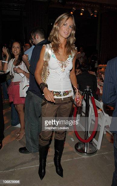 Lady Victoria Hervey during PSP Fuses Fashion and Technology in an Exclusive Designer Accesories Show Arrivals and Front Row at Skylight Studios in...
