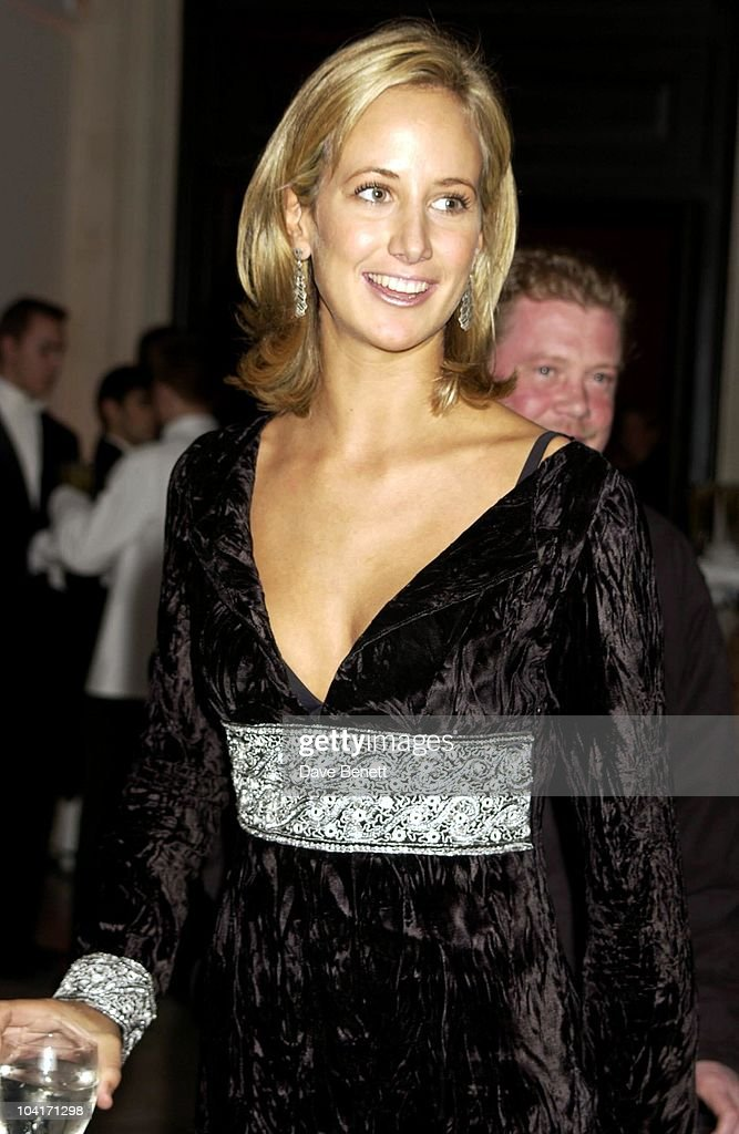 Lady Victoria Hervey, Fashion Photographer Mario Testino Attracted All The Most Glamorous Women In London To His Exhibition At The National Portrait Gallery.