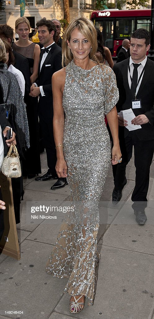 Lady Victoria Hervey sighting on July 31, 2012 in London, England.
