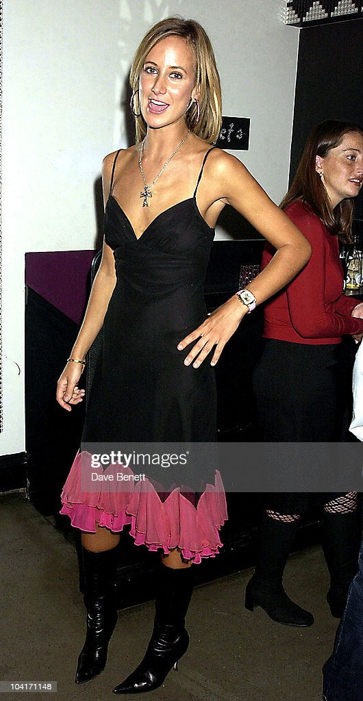 Lady Victoria Hervey, 'The Banger Sisters' Movie Premiere Held At The Warner West End, Then The Party At Jewel In Picadilly, London