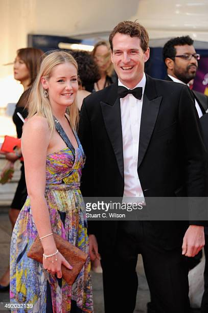 Lady Viola Grosvenor and Dan Snow attend the Arqiva British Academy Television Awards at Theatre Royal on May 18 2014 in London England