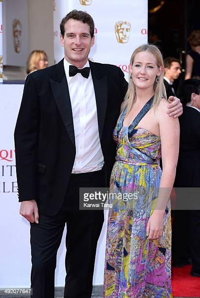 Lady Viola Grosvenor and Dan Snow attend the Arqiva British Academy Television Awards held at the Theatre Royal on May 18 2014 in London England