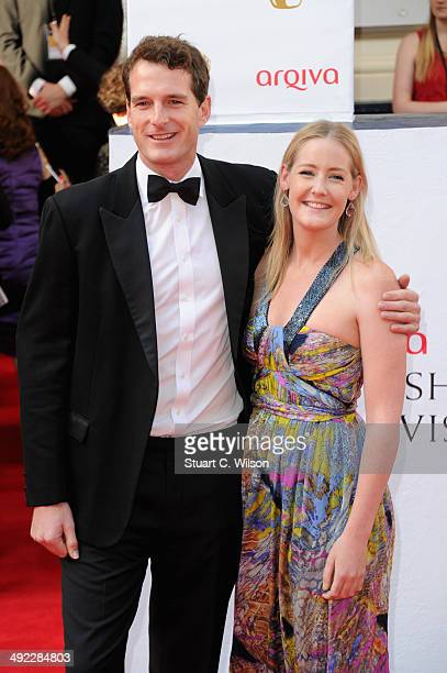 Lady Edwina Louise Grosvenor and Dan Snow attend the Arqiva British Academy Television Awards at Theatre Royal on May 18 2014 in London England