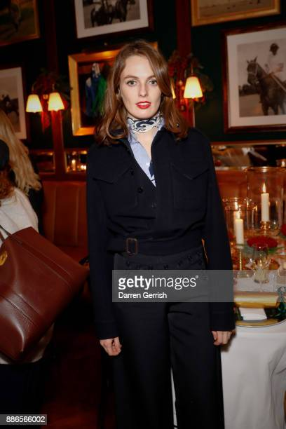 Lady Violet Manners attends the Polo Bear Holiday Dinner hosted by Polo Ralph Lauren and Alexandra Richards at RalphÕs Coffee Bar on December 5 2017...