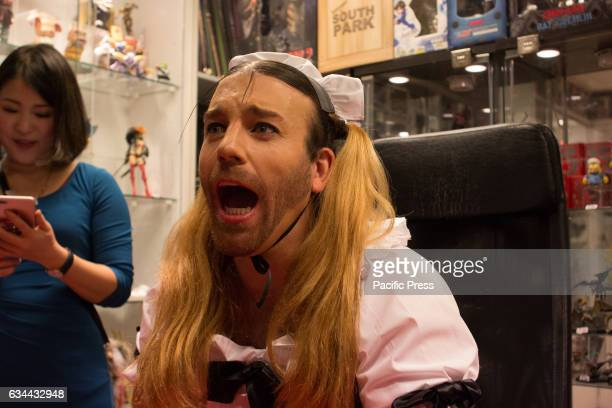LadyBeard the Japanese Pop idol comes to Madrid for the Japan weekend celebration