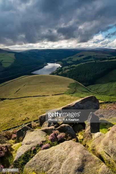 Ladybower reservoir and the Derwent valley, Derbyshire, England