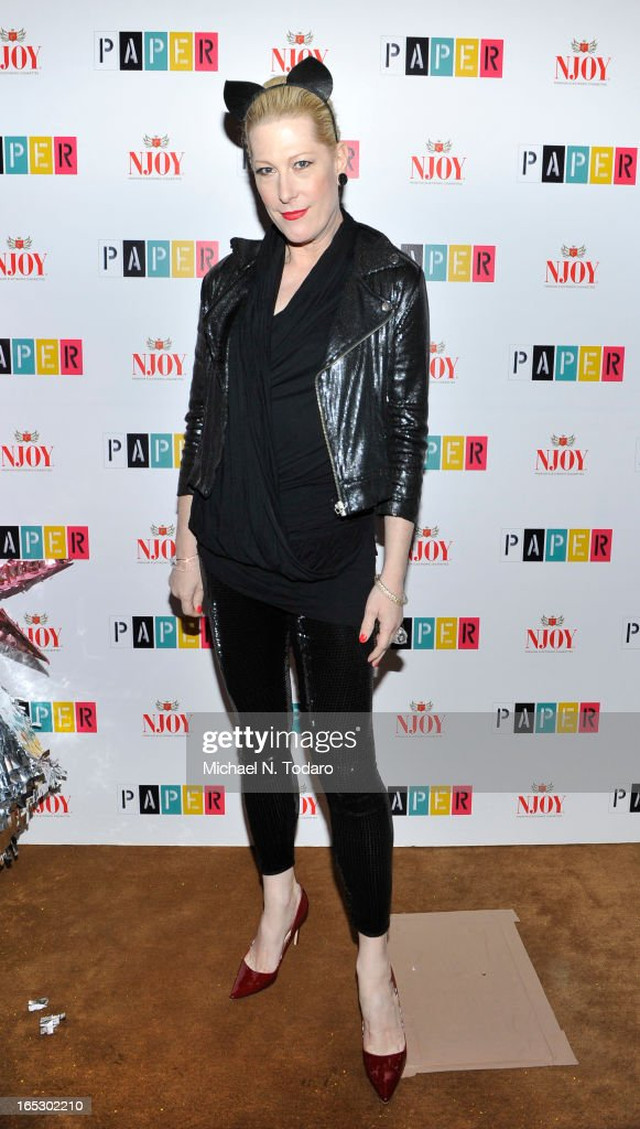 Ladyfag attends Paper Magazine's 16th Annual Beautiful People Party at Top of The Standard Hotel on April 2, 2013 in New York City.