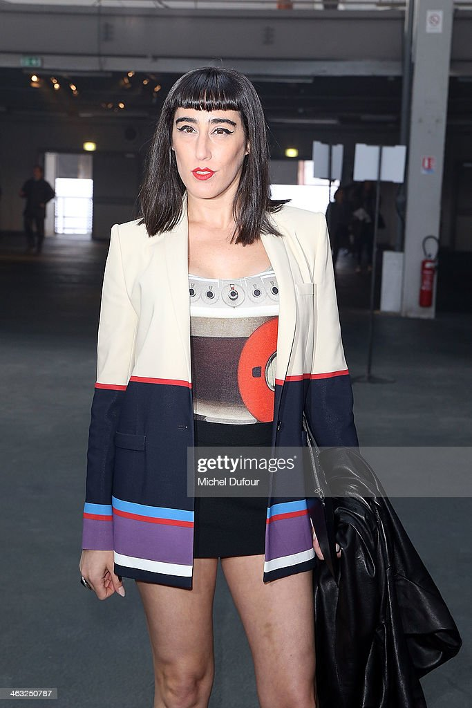 Ladyfag attends the Givenchy Menswear Fall/Winter 2014-2015 Show as part of Paris Fashion Week on January 17, 2014 in Paris, France.