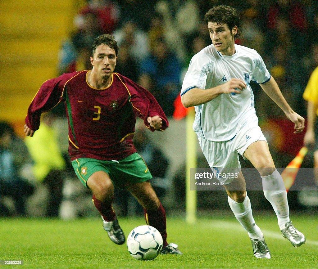 Laenderspiel 2003 Aveiro Portugal Griechenland 11 RUI JORGE/POR Giorgos SEITARIDIS/GRE