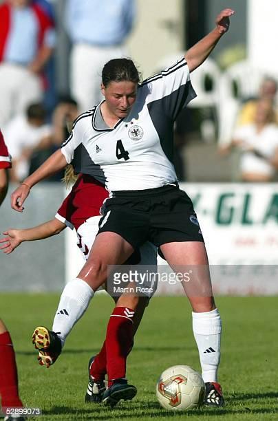 Laenderspiel 2003 Heide Deutschaland Daenemark 21 Verena HAGEDORN/GER