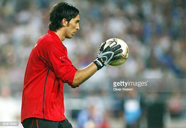 Laenderspiel 2003 Stuttgart Deutschland Italien 01 Torwart Gianluigi BUFFON/ITA