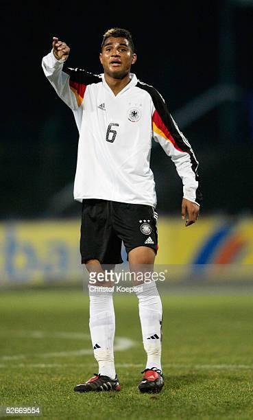 Laenderspiel 2005 Meppen 160305 Deutschland Italien 10 KevinPrince BOATENG/GER