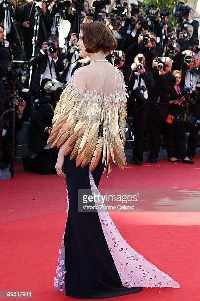 Laeticia Casta attends the 'Zulu' Premiere and Closing Ceremony during the 66th Annual Cannes Film Festival at the Palais des Festivals on May 26...