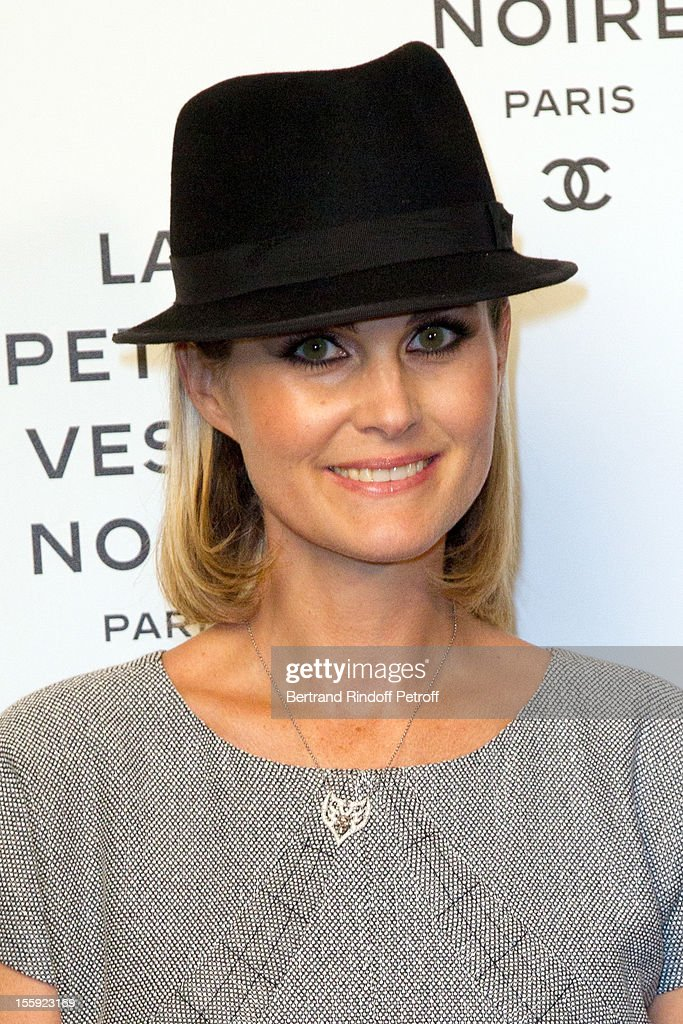 <a gi-track='captionPersonalityLinkClicked' href=/galleries/search?phrase=Laeticia+Hallyday&family=editorial&specificpeople=3100080 ng-click='$event.stopPropagation()'>Laeticia Hallyday</a> attends 'La Petite Veste Noire' Book Launch Hosted By Karl Lagerfeld & Carine Roitfeld at Grand Palais on November 8, 2012 in Paris, France.