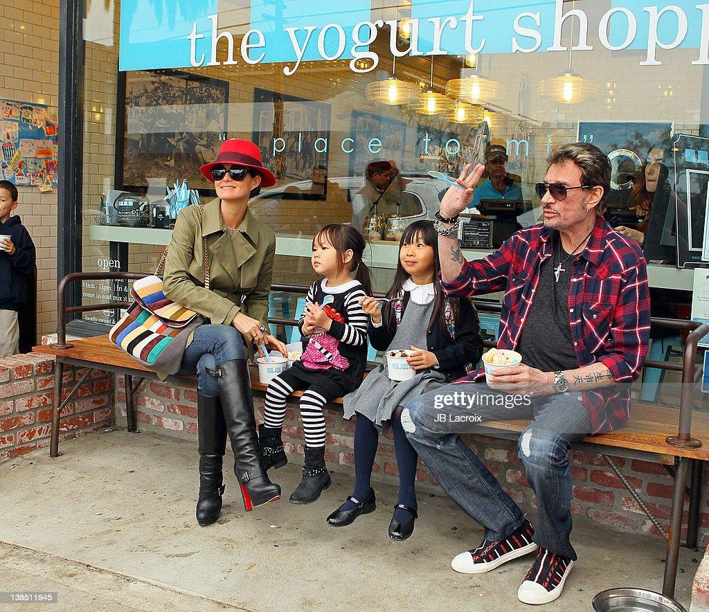 Celebrity Sightings In Los Angeles - February 7 2012