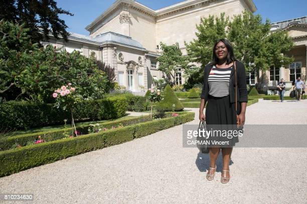 Laetitia Avia the new member of the French Parliament from the Presidential party on june 19 2017 in Paris France Laetitia Avia