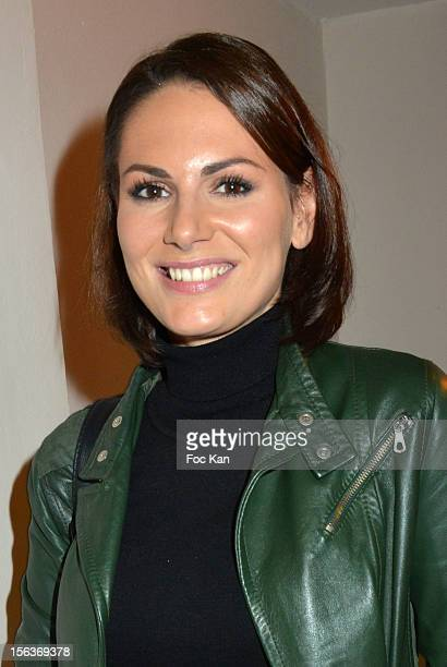 Laetitia Bleger attends the 'Cherie 25' TV Channel Hosted by NRJ at Pavillon Vendome on November 13 2012 in Paris France