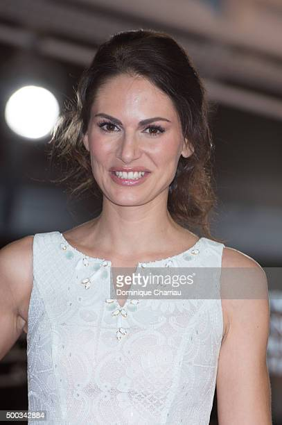 Laetitia Bleger attends the 'ÊLes Braqueurs' premiere during the 15th Marrakech International Film Festival on December 7 2015 in Marrakech Morocco