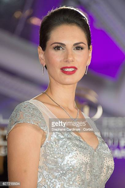 Laetitia Bleger attends the Opnening Ceremony of the 16th Marrakech International Film Festival on December 2 2016 in Marrakech Morocco