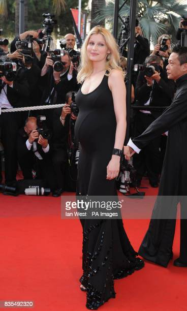 Laetitia Casta arrives for the premiere of the new film Visageduring the Cannes Film Festival at the Palais de Festival in Cannes France