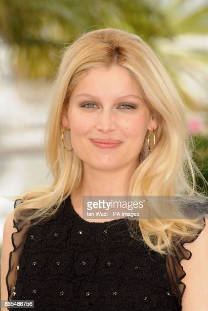 Laetitia Casta attends a photocall for new film Visage during the Cannes Film Festival at the Palais de Festival in Cannes France