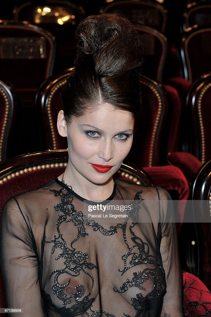 <a gi-track='captionPersonalityLinkClicked' href=/galleries/search?phrase=Laetitia+Casta&family=editorial&specificpeople=203075 ng-click='$event.stopPropagation()'>Laetitia Casta</a> attends the 35th Cesar Film Awards at Theatre du Chatelet on February 27, 2010 in Paris, France.