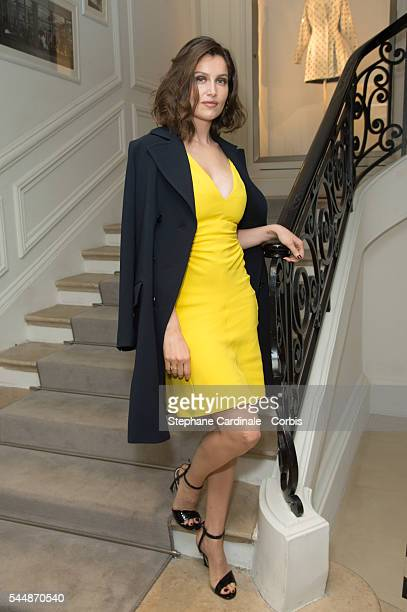 Laetitia Casta attends the Christian Dior Haute Couture Fall/Winter 20162017 show as part of Paris Fashion Week on July 4 2016 in Paris France