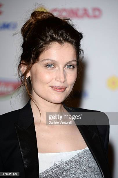 Laetitia Casta attends the Day 1 Photocall during 64th Festival di Sanremo 2014 at Teatro Ariston on February 18 2014 in Sanremo Italy