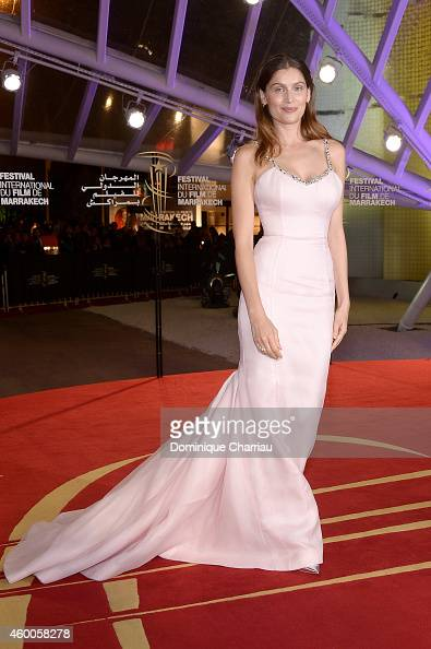 Laetitia Casta attends the Evening Tribute To Jeremy Irons as part of the 14th Marrakech International Film Festival on December 6 2014 in Marrakech...
