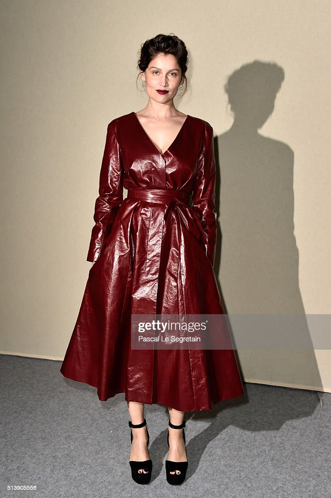 <a gi-track='captionPersonalityLinkClicked' href=/galleries/search?phrase=Laetitia+Casta&family=editorial&specificpeople=203075 ng-click='$event.stopPropagation()'>Laetitia Casta</a> attends the Nina Ricci show as part of the Paris Fashion Week Womenswear Fall/Winter 2016/2017 on March 5, 2016 in Paris, France.