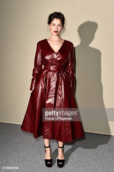 Laetitia Casta attends the Nina Ricci show as part of the Paris Fashion Week Womenswear Fall/Winter 2016/2017 on March 5 2016 in Paris France