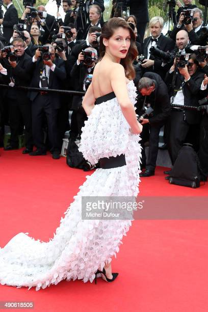 Laetitia Casta attends the Opening ceremony and Premiere of 'Grace of Monaco' at the 67th Annual Cannes Film Festival on May 14 2014 in Cannes France