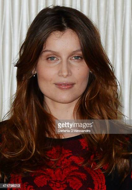 Laetitia Casta attends 'Una Donna Per Amica' Photocall on February 25 2014 in Milan Italy