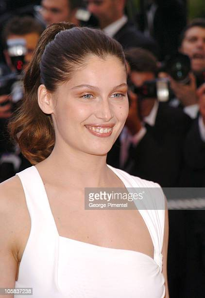 Laetitia Casta during 2005 Cannes Film Festival 'Lemming' Premiere in Cannes France