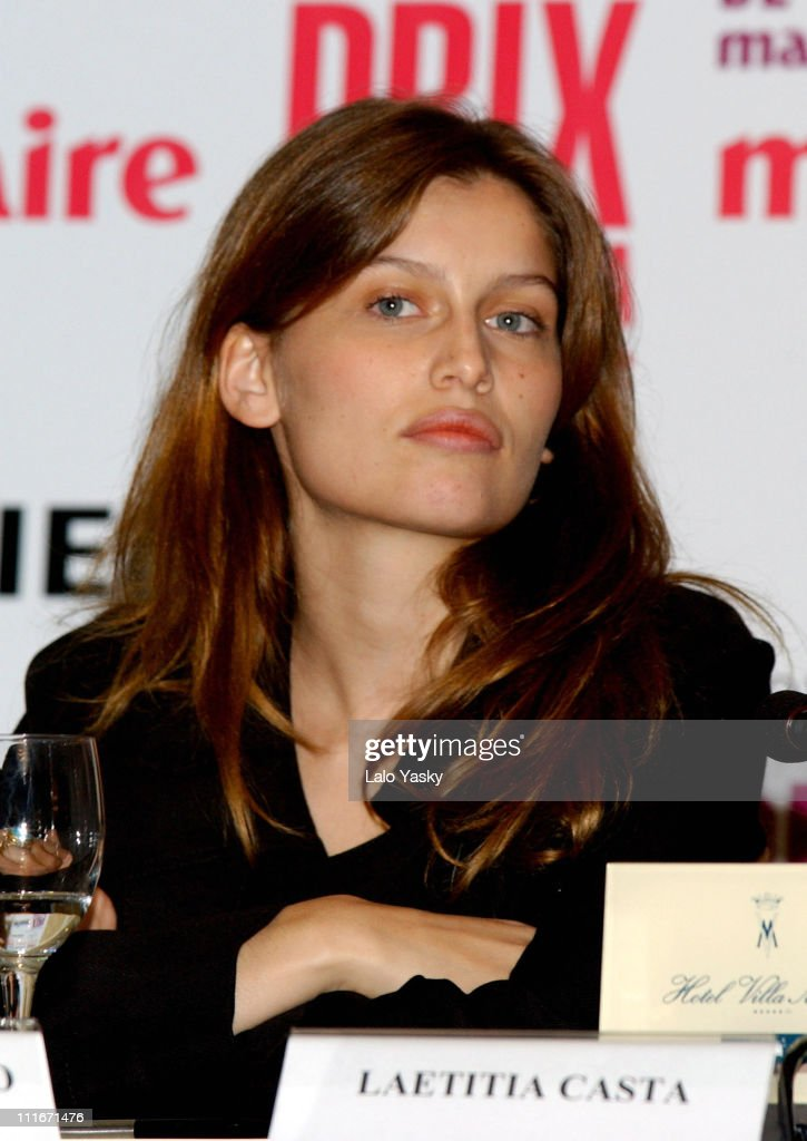 <a gi-track='captionPersonalityLinkClicked' href=/galleries/search?phrase=Laetitia+Casta&family=editorial&specificpeople=203075 ng-click='$event.stopPropagation()'>Laetitia Casta</a> during Press Conference to Announce the 1st Annual Marie Claire Magazine Fashion Awards at Villa Magna Hotel in Madrid, Spain.