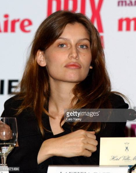 Laetitia Casta during Press Conference to Announce the 1st Annual Marie Claire Magazine Fashion Awards at Villa Magna Hotel in Madrid Spain