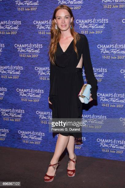 Laetitia Dosch attends the 6th Champs Elysees Film Festival Opening Ceremony in Paris on June 15 2017 in Paris France