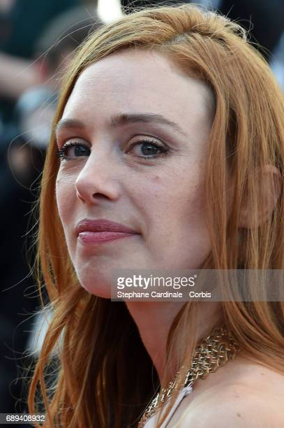 Laetitia Dosch attends the Closing Ceremony during the 70th annual Cannes Film Festival at Palais des Festivals on May 28 2017 in Cannes France