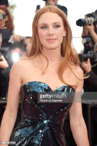 Laetitia Dosch attends the 'The Beguiled' screening during the 70th annual Cannes Film Festival at Palais des Festivals on May 24 2017 in Cannes...