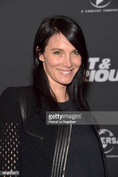 Laetitia Fourcade attends 'Fast Furious 8' Premiere at Le Grand Rex on April 5 2017 in Paris France