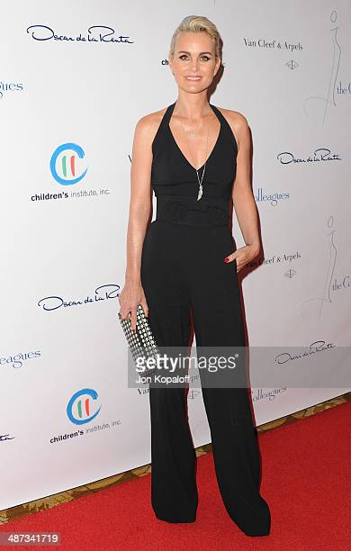 Laetitia Hallyday attends The Colleagues' 26th Annual Spring Luncheon at Regent Beverly Wilshire Hotel on April 29 2014 in Beverly Hills California