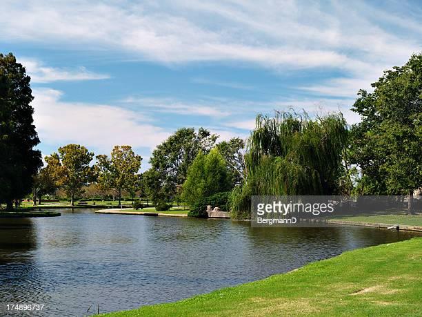 Lafrenière Park avec vue sur le lac