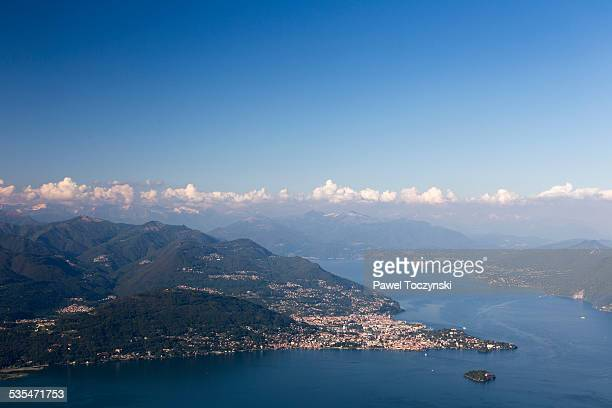 Lago Maggiore seen from Mottarone mountain