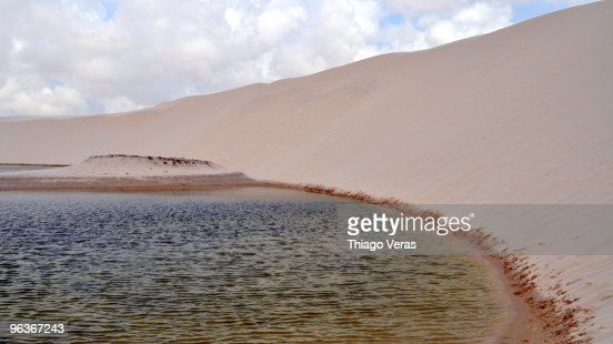 A lagoon at the National Park : Stock Photo