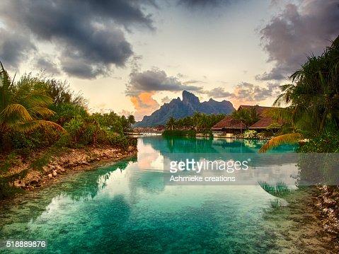 lagoon Four Seasons Resort Bora Bora French Polynesia