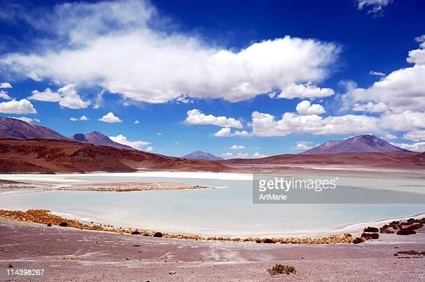 Lagoon in Altiplano, Bolivia