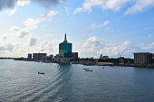 Lagos Nigeria skyline