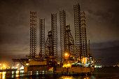 Lagos Nigeria Oil Rig