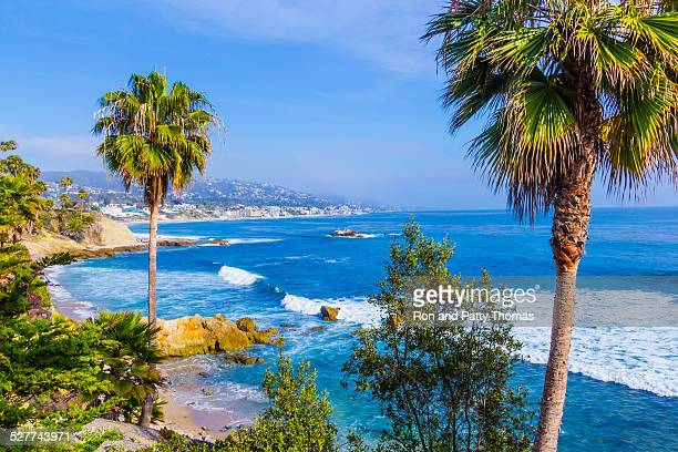 Laguna Beach coastline,Pacific Ocean,Rte 1,Orange County,CA(P)